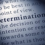 The Importance of Determination – By Amy Venner