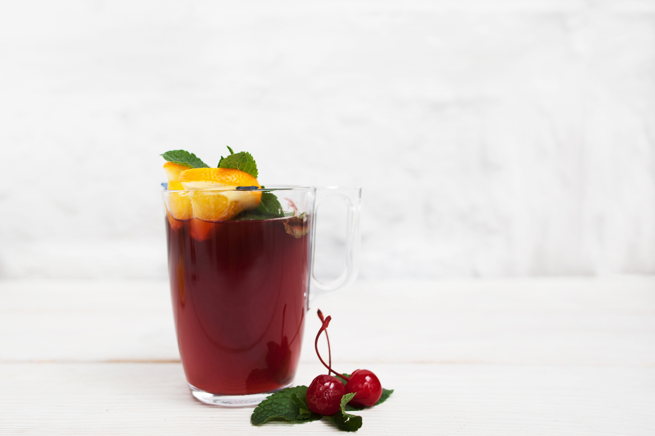 Drink Makeover: Cherry Kombucha