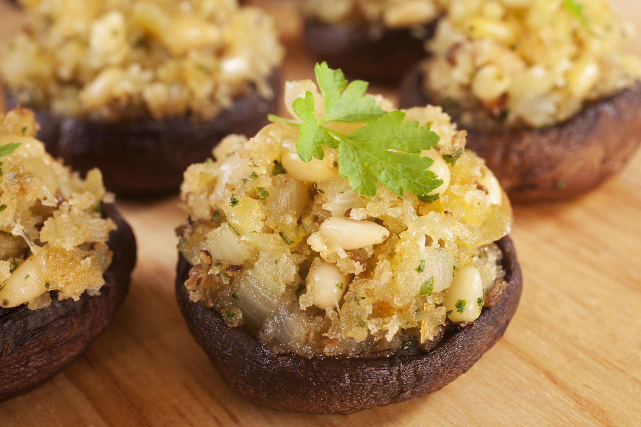 Meal Makeover: Vegan Stuffed Portabella Mushroom
