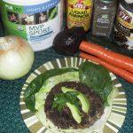 Flex Meal: Black Bean Burger