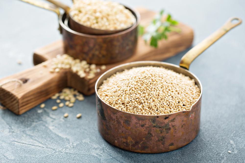 Flex Meal: Quinoa + Lentils + Honey
