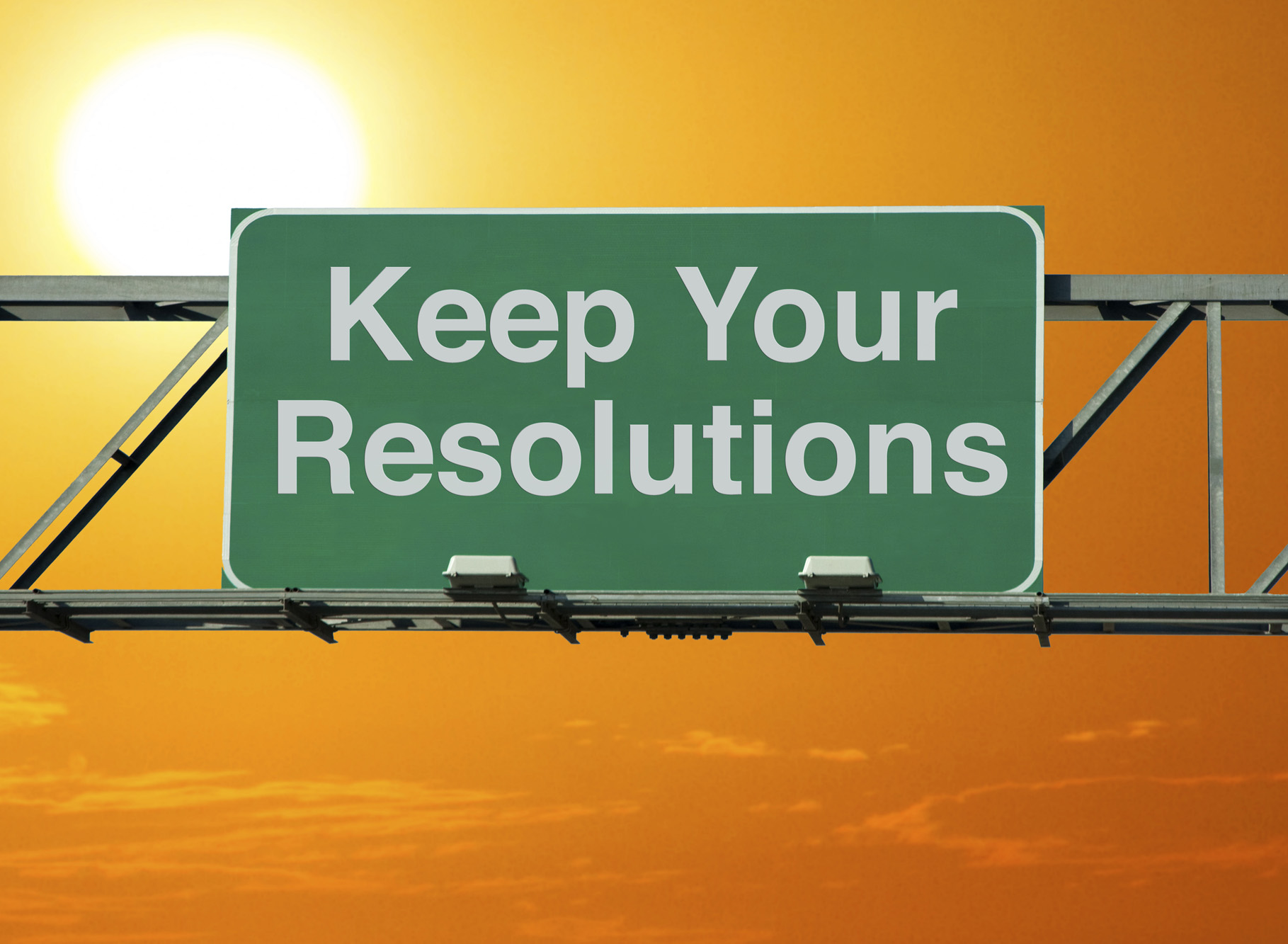 Want to Keep those New Years Resolutions in 2016?