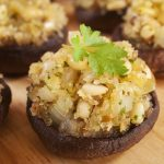 Meal Makeover: Vegan Stuffed Portabella Mushroom