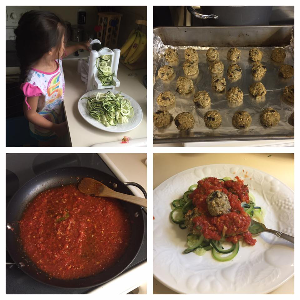 Meal Makeover: Vegan Meatballs