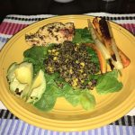 ATHLETE MEAL: Chimichurri Chicken with Quinoa