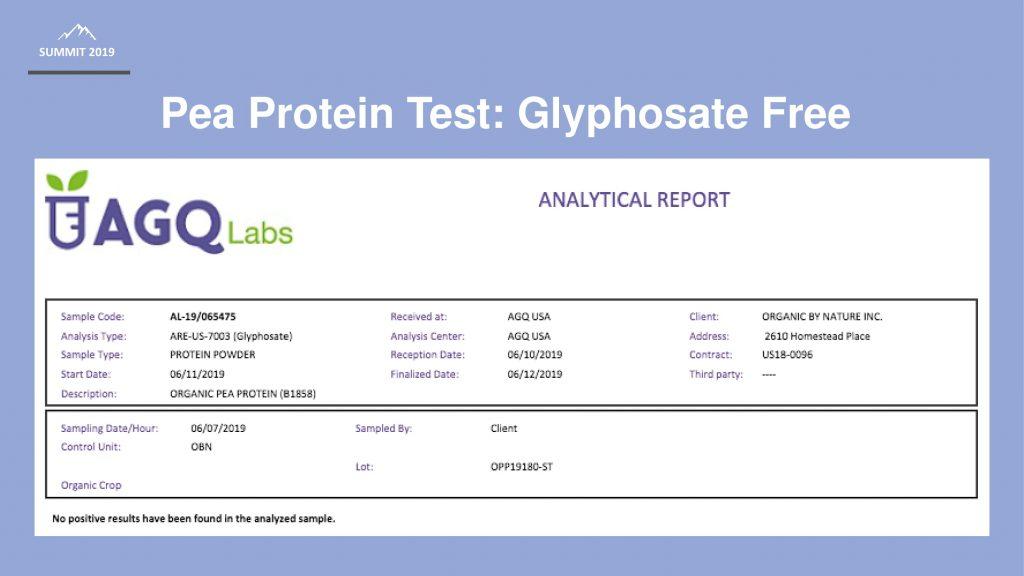 pea protein_test
