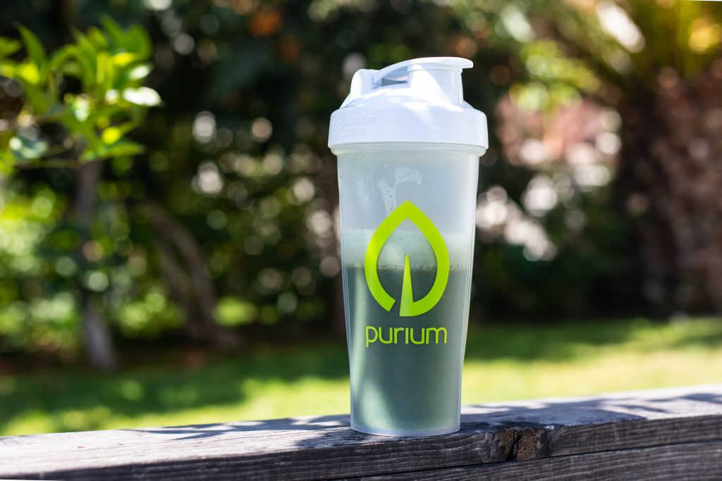 Purium Shaker bottle, eco-friendly
