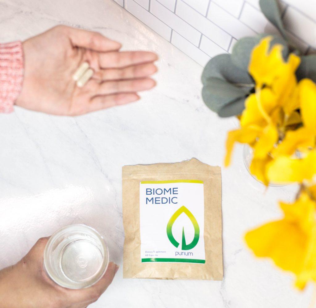 Biome Medic in hands