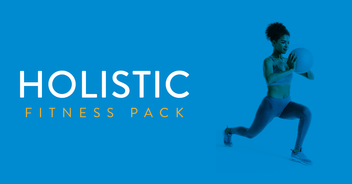 Meet the Holistic Fitness Program: Products & Schedule