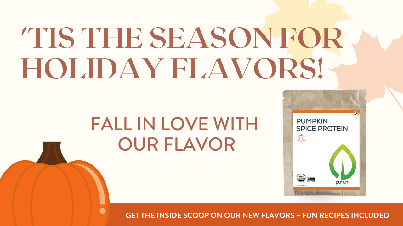 Purium Seasonal Flavors: Product Information and Recipes